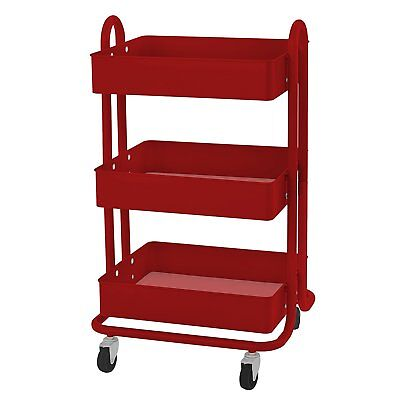 Steel Tool Cart Rolling Storage Box Garage Drawer Cabinet Chest Utility Mechanic