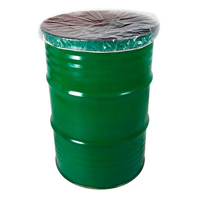 4 mil Economy LDPE Dust Cover for 55 Gallon Drum