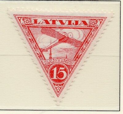 Latvia 1931 Early AIR Issue Fine Mint Hinged 15s. 233057