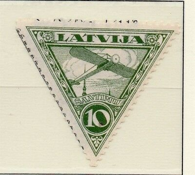 Latvia 1931 Early AIR Issue Fine Mint Hinged 10s. 233056