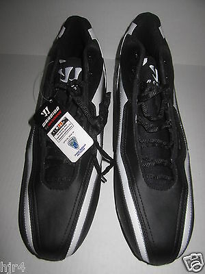 MLL Major League Lacrosse New Balance Warrior Black Cleats Shoes Mens US 13 NWT
