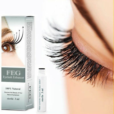 100% Original Natural FEG Eyelash Enhancer Rapid Growth Serum Liquid 3ML Beauty
