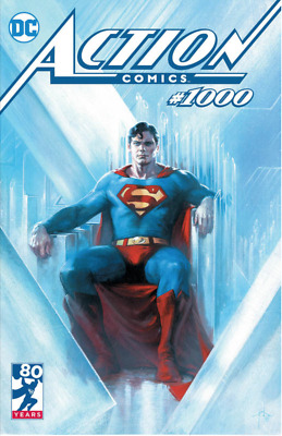🔥 Action Comics #1000 Gabriele Dell'Otto Trade Dress Exclusive NM Ltd. 2500 🔥