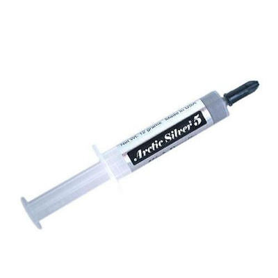 Arctic Silver 5 High-Density Polysynthetic Silver Thermal Compound 12g/3cc Tube