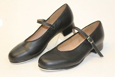 Bloch Womens 10 NEW Black Leather Mary-Jane Style Tap Shoes Dancewear mn