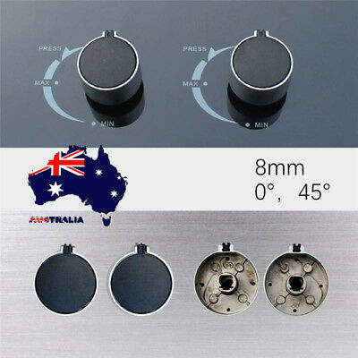 AU 2pcs Kitchen Gas Stove Knobs Cooker Oven Hob Cooktop Rotary Switch Control