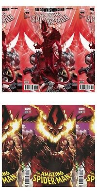 Amazing Spider-Man 799 McGuiness Cover A x 3 Cover B x 3