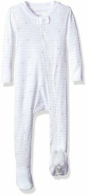 3a4bca798 BURT S BEES BABY Unisex Baby Organic Zip Front Non-Slip Footed ...