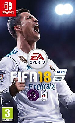FIFA 18 For Nintendo Switch (New & Sealed)