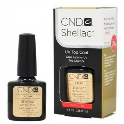 CND Shellac Top Coat 1 x 7,3ml Original 100%