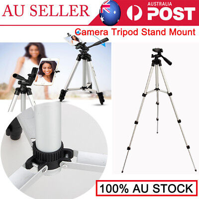 Pro New Camera Tripod Stand Mount + Phone Holder For Phone iPhone X IPhone 8 AU