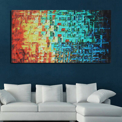 Unframed Modern Large Home Wall Décor Abstract Art Canvas Oil painting Picture