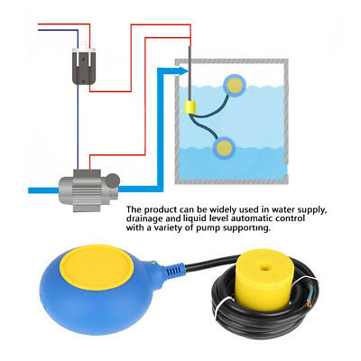 Float Switch Automatic Liquid Water Level Controller Contactor Sensor yellow zg