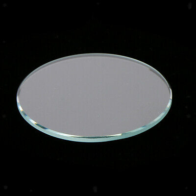 10pcs Round Flat Mineral Crystal Watches Glass Replacement 1mm Thick 28-38mm