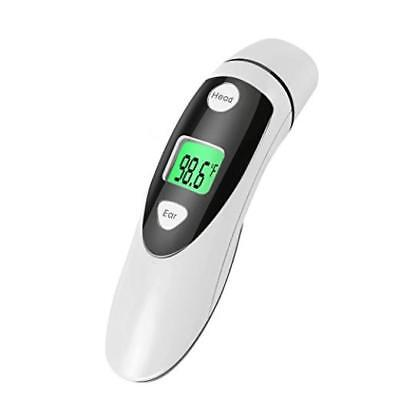 Red Medical Forehead & Ear Thermometer Professional Digital Medical Thermom Accu