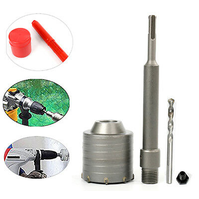 65Mm Hole Saw Cutter Drill Bit With SDS Plus Shank For Concrete Cement Stone