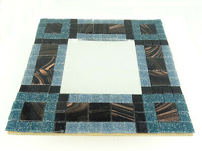 Mosaic Mirror kit - Golden Grey. Easy and fun to craft great for adults & kids.