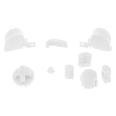 Button set for GameCube Nintendo Controllers mod kit replacement ZedLabz – White