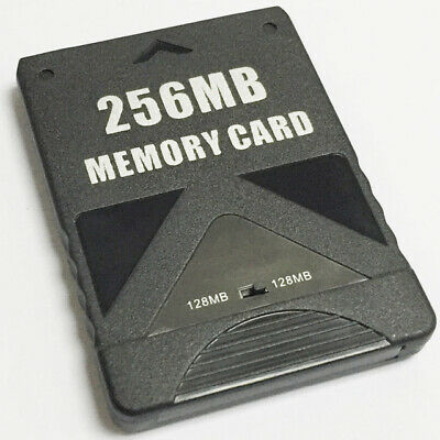 Memory card for PS2 256MB PS2 Slim PlayStation 2 Sony consoles  –black | ZedLabz