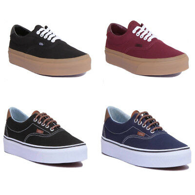 cc58749f52 Vans Canvas Era 59 Men Canvas Port Royale Gum Skate Shoes Size UK 6 -12