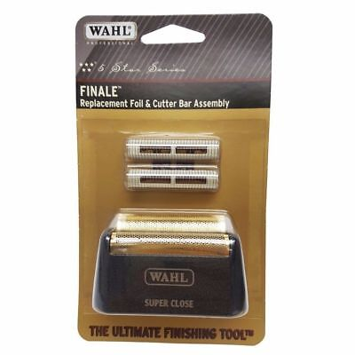 Wahl Finale Super Close Gold Foil and Cutters 7043