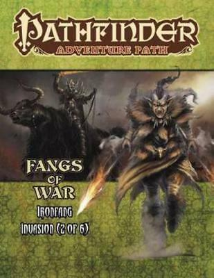 Pathfinder Adventure Path: Ironfang Invasion Part 2 of 6-Fangs of War by Ron ...