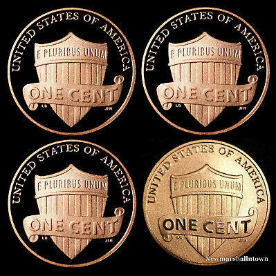 2016 2017 2018 S Lincoln Shield Proof Coins and the Enhanced Cent Mint Set