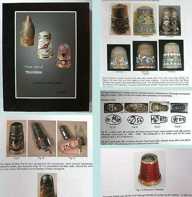 "New ""More About Thimbles"" Reference Book Vol 3 * William & Magdalena Isbister"
