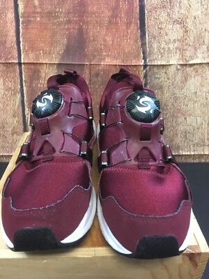 WOMEN'S PUMA DISC System Burgundy Shoes Size 8.5 $24.50