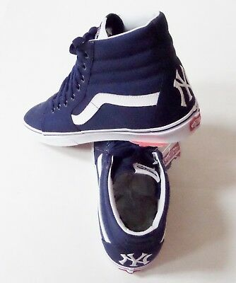 9599ce0930 VANS SK8 HI-MLB New York Yankees Skate Shoes - $76.90 | PicClick