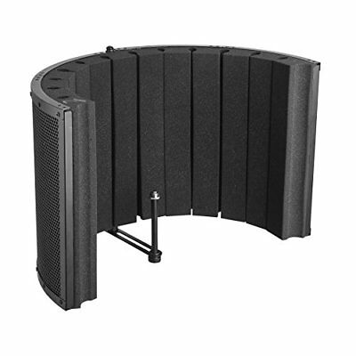 Microphone Isolation Shield - Vocal Booth & Studio Recording Acoustic Panel