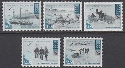 Ross Dependency 2008 Br Antarctic Expedition Set Mnh (Id:97/rd084)