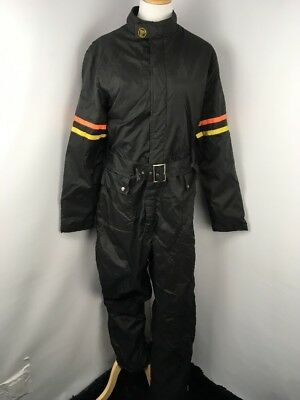FOX POINT Wheels of Man mens Large motorcycle racing suit USA 80s vintage vtg