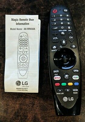 New original lg tv magic remote control an mr500 an mr500g anmr500 lg magic remote control an mr650a voice mate 2017 uhd oled sciox Image collections