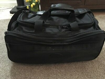 "Kirkland Signature Black Heavy 20"" Duffle Bag With 4 Feet"