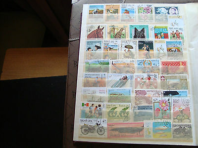 ASIE - 38 stamps canceled (all state) stamp
