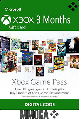 3 Months Xbox Game Pass Membership Key - 3 Months Xbox Subscription Code - CA