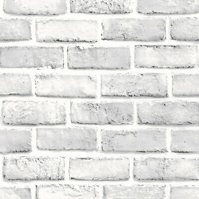 3D Wall Paper Brick Stone Rustic Effect Self-adhesive Wall Sticker Home Decor WH