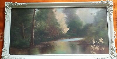 vintage reproduction on board by R.Yorke with 1930's french style frame