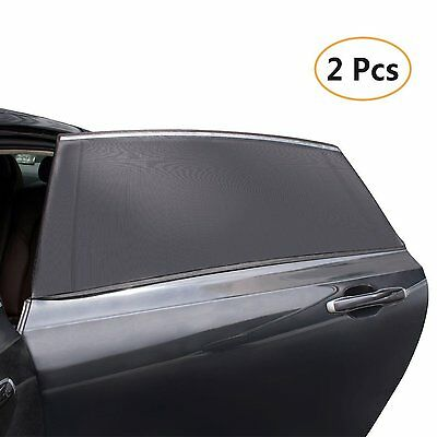2 Peaces Auto Window Sun Shade Sock Cover UV Protector Child Shield For Car Best