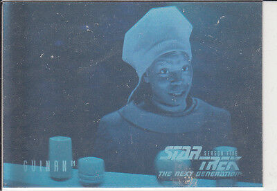 Star Trek TNG Season 5 Hologram H9 Guinan