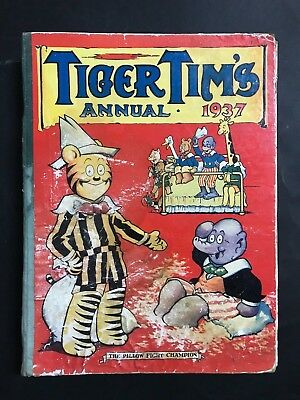 Tiger Tims Annual 1937, 166 Pages