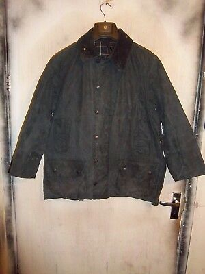 Barbour Beaufort Waxed Jacket Size C42 107Cm