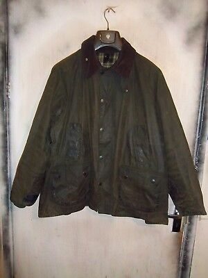 Barbour Bedale Waxed Jacket Size C46 117Cm