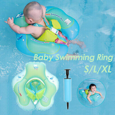 Baby Float Swimming Ring Kids Inflatable Swim Training  Safety Aid Pool Water