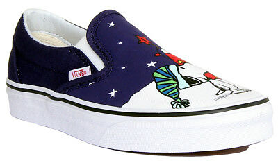 1d092a0328 Vans Charlie Brown Christmas Tree Women Other Fabric Multi Colour Slip On  Traine