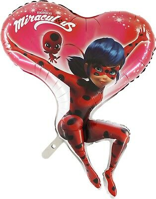 Pallone mylar super shape Ladybug 90 cm Lady Bug party compleanno festa