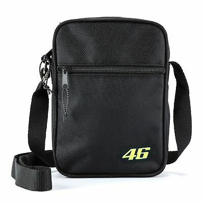 Official VR46 Valentino Rossi MotoGP 46 Shoulder Classic Bag 2018 - Black