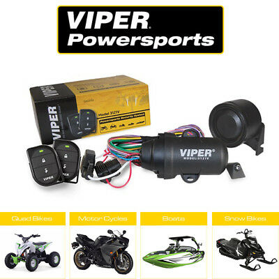 VIPER 3121V 1-Way Motorcycle, Moped, Scooter, Boat, Quadbike, Waterproof Alarm