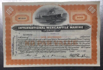 HP225 * Händler- Restposten * 5x International Mercantile Marine * IMM * 1930er